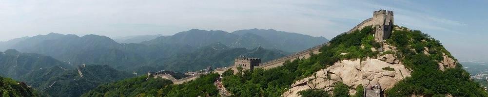 Een lege Chinese muur