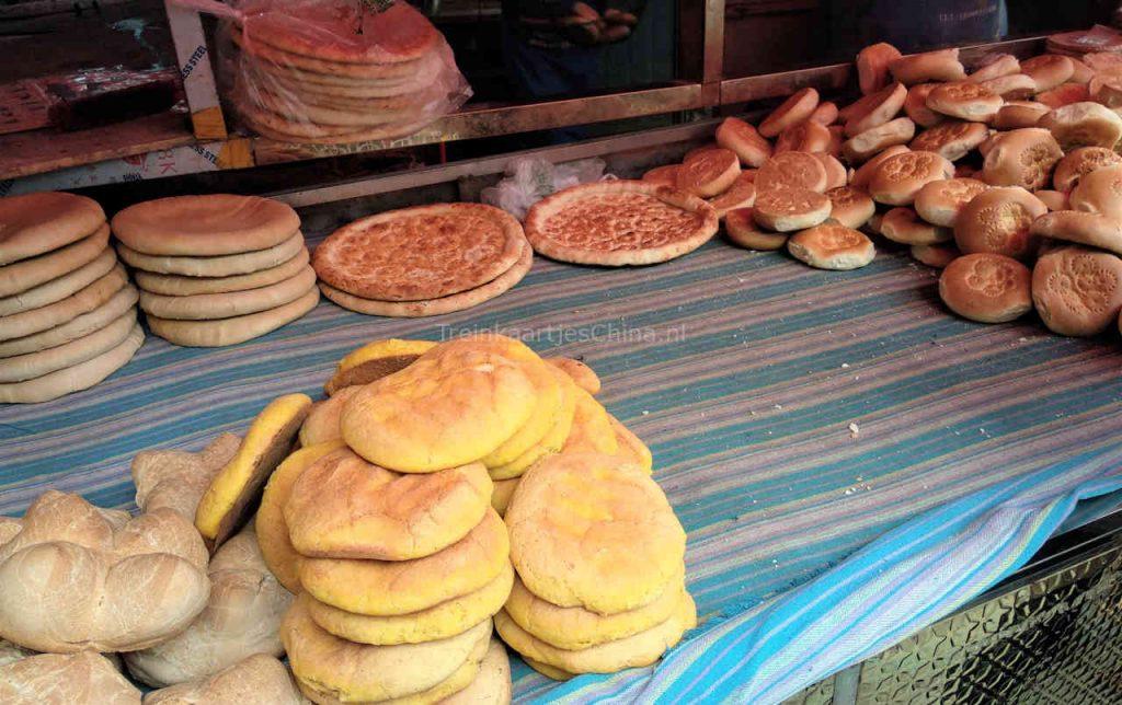 Naanbrood in Urumqi China
